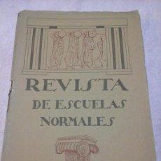 Libros antiguos: REVISTA DE ESCUELAS NORMALES JUNIO 1924 N. 16 GUADALAJARA PEDAGOGÍA EDUCACIÓN. Lote 86081712
