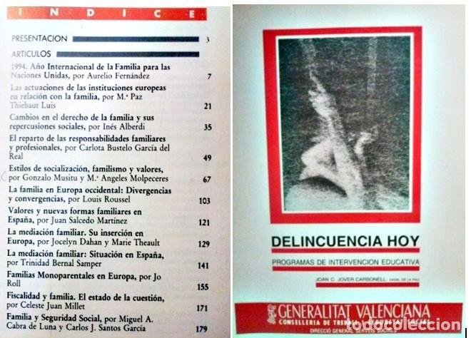 DELINCUENCIA HOY PROGRAMAS DE INTERVENCION EDUCATIVA (Libros Antiguos, Raros y Curiosos - Ciencias, Manuales y Oficios - Pedagogía)
