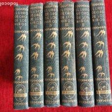 Libros antiguos: EL LIBRO DE ORO DE LOS NIÑOS. UN MUNDO MARAVILLOSO PARA LA INFANCIA. 6 TOMOS .EDITORIAL ACROPOLIS M. Lote 90020412