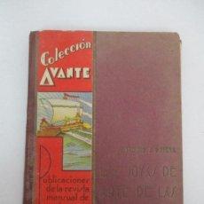 Libros antiguos: LAS JOYAS DE ARTE DE LAS GALERÍAS EUROPEAS - ANTONIO J. ONIEVA - 1ª EDICIÓN - COLECCIÓN AVANTE -1934. Lote 90552620