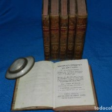 Libros antiguos: (MF) JOSEF DE LA FRESA - BIBLIOTECA COMPLETA DE EDUCACION O INSTRUCCIONES PARA SEÑORAS JOVENES. Lote 93750205