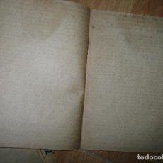 Libros antiguos: LIBRO ANTIGUO MANUSCRITO REFLEXION RELIGIOSO EL DOLOR Y LA TRISTEZA 50 PGS CIRCA 1939. Lote 94091475