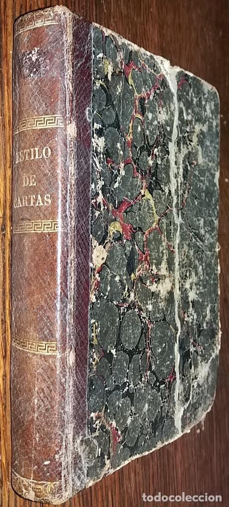 NOVISIMO ESTILO DE ESCRIBIR CARTAS - J.M. 5ª EDICION - IMP. JOAQUIN BOSCH 1862 (Libros Antiguos, Raros y Curiosos - Ciencias, Manuales y Oficios - Pedagogía)