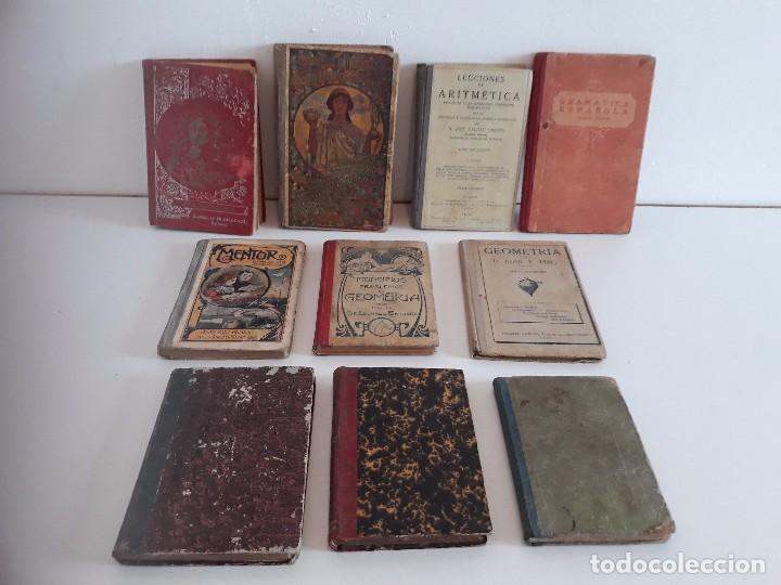 LIBROS COLEGIO - SIGLO XIX/XX (Libros Antiguos, Raros y Curiosos - Ciencias, Manuales y Oficios - Pedagogía)