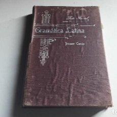 Libros antiguos: PEDAGOGÍA....GRAMATICA LATINA...PRIMER CURSO..1911.. Lote 98782419