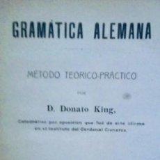 Libros antiguos: GRAMATICA ALEMANA. Lote 103938411