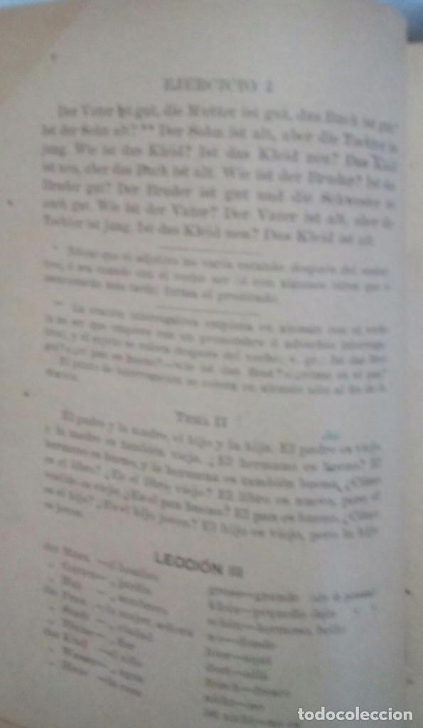 Libros antiguos: Gramatica Alemana - Foto 5 - 103938411