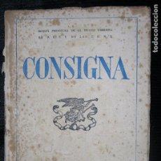 Alte Bücher - CONSIGNA REVISTA PEDAGOGICA F.E.T Y J.O.N.S AÑÓ 1949 MADRID Nº97 JOSE ANTONIO - 104616695