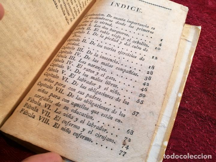 Libros antiguos: EL AMIGO DE LOS NIÑOS, ABATE SABATIER,JUAN ESCOIQUIZ PERGAMINO,imprenta pablo riera REUS 1826 - Foto 4 - 105846547
