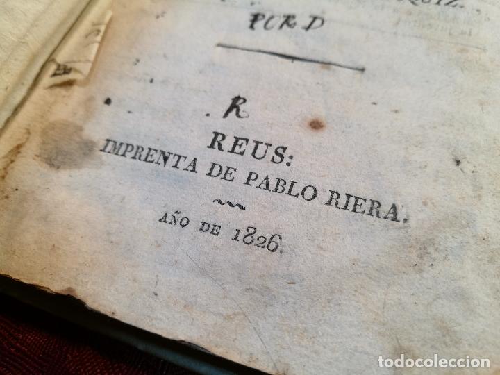 Libros antiguos: EL AMIGO DE LOS NIÑOS, ABATE SABATIER,JUAN ESCOIQUIZ PERGAMINO,imprenta pablo riera REUS 1826 - Foto 7 - 105846547