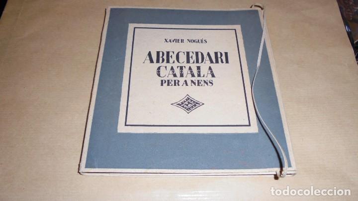 XAVIER NOGUÉS / SALVAT-PAPASSEIT / POMPEU FABRA - ABECEDARI CATALA PER NENS 1920 LLIBRERIA NACIONAL (Libros Antiguos, Raros y Curiosos - Ciencias, Manuales y Oficios - Pedagogía)