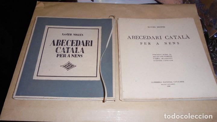 Libros antiguos: XAVIER NOGUÉS / SALVAT-PAPASSEIT / POMPEU FABRA - ABECEDARI CATALA PER NENS 1920 LLIBRERIA NACIONAL - Foto 2 - 107118679