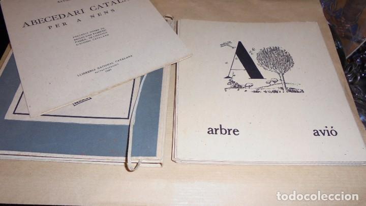 Libros antiguos: XAVIER NOGUÉS / SALVAT-PAPASSEIT / POMPEU FABRA - ABECEDARI CATALA PER NENS 1920 LLIBRERIA NACIONAL - Foto 5 - 107118679