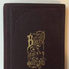 Libros antiguos: EDUCACIÓN DE LOS SENTIDOS POR JULIÁN LÓPEZ CATALÁN. BIBLIOTECA DEL MAESTRO.. Lote 107416723