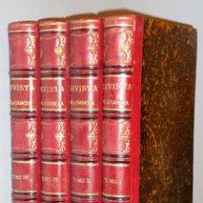 Libros antiguos: REVISTA CALASANCIA. ( 4 PRIMEROS TOMOS: 1888-1889). Lote 109173267