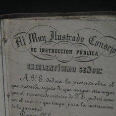 Libros antiguos: ESCRITURA Y LENGUAJE DE ESPAÑA - ESTEBAN PALUZIE , EDICION 1865. Lote 109896943