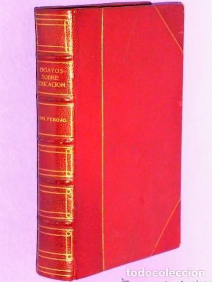 ENSAYOS SOBRE EDUCACIÓN. (Libros Antiguos, Raros y Curiosos - Ciencias, Manuales y Oficios - Pedagogía)