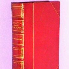 Libros antiguos: ENSAYOS SOBRE EDUCACIÓN.. Lote 111427723