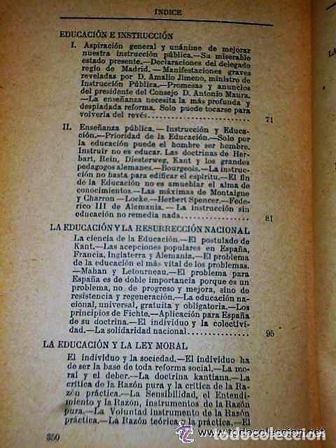Libros antiguos: ENSAYOS SOBRE EDUCACIÓN. - Foto 4 - 111427723
