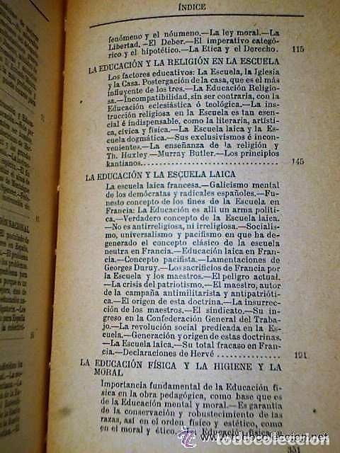 Libros antiguos: ENSAYOS SOBRE EDUCACIÓN. - Foto 5 - 111427723