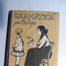 Libros antiguos: GRAMATICA DE LA ED. SATURNINO CALLEJA. Lote 111920587