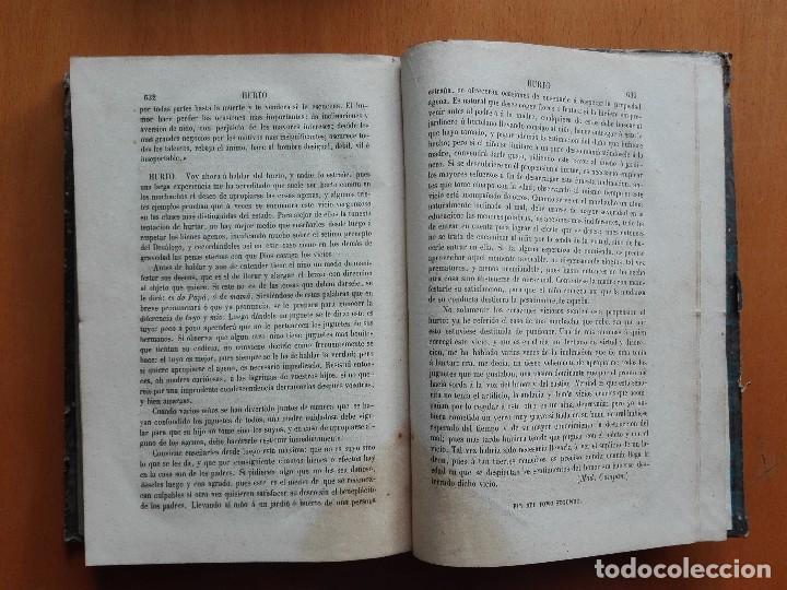 Libros antiguos: Diccionario de educacion y métodos de enseñanza... Mariano Carderera, 1854-1858. IV Tomos 1ª Ed. - Foto 7 - 113919751