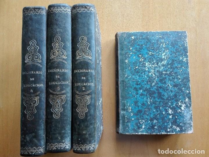 Libros antiguos: Diccionario de educacion y métodos de enseñanza... Mariano Carderera, 1854-1858. IV Tomos 1ª Ed. - Foto 10 - 113919751