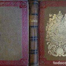 Libros antiguos: JANER, F. [ED.]. FÁBULAS DE ESOPO, SAMANIEGO E IRIARTE. COL. PARA ESCUELAS ESPAÑOLAS Y AMERIC. 1894.. Lote 114977907
