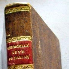 Libros antiguos: ARTE DE HABLAR- TOMO I - HERMOSILLA -1839 - 2 ED.. Lote 115060775