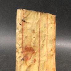 Libros antiguos: ARTE DE CONSTRUCCIÓN - PEDRO MASUSTEGUI - MÁLAGA 1773 - PERGAMINO. Lote 116247663