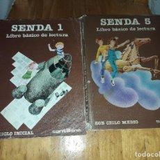 Libros antiguos: LOTE LIBRO SENDA 1 Y 5 . Lote 121455891