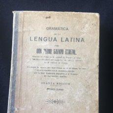 Libros antiguos: GRAMÁTICA DE LA LENGUA LATINA, DON PEDRO GAZAPO CEREZAL 1913. Lote 121497919