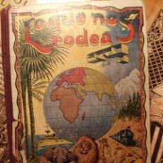 Libros antiguos: LO QUE NOS RODEA - 15ª EDICIÓN ORIGINAL - RICARDO OPISSO - 50 LECCIONES DE COSAS - PARA NIÑOS. Lote 122376843