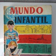 Libros antiguos: MUNDO INFANTIL MANUEL MARIN Y CIA EDITORES 1958. Lote 124494687