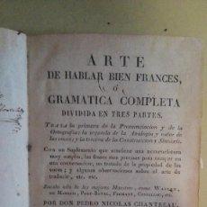 Libros antiguos: ARTE DE HABLAR BIEN FRANCES LEON 1816. Lote 125121703