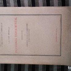 Libros antiguos: PEDAGOGÍA EXPERIMENTAL. Lote 125736367