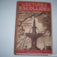 Libros antiguos: LECTURAS ESCOLLIDES!!!!. Lote 126967423