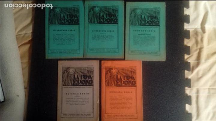 PEDAGOGÍA. PLANTEAMIENTOS EDUCATIVOS NUEVOS Y PROGRESISTAS. ESPERANTO. LENGUA UNIVERSAL. (Libros Antiguos, Raros y Curiosos - Ciencias, Manuales y Oficios - Pedagogía)
