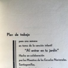 Libros antiguos: NUEVA EDUCACION ASTORGA AÑO 1935. SANTIAGOMILLAS. SAN JUSTO DE LA VEGA. LEON ESCUELA. Lote 128094363