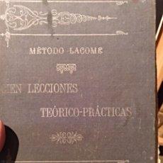 Libros antiguos: 1904. MÉTODO LACOME. Lote 128611775