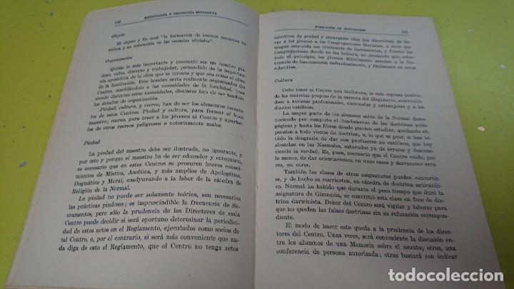 Libros antiguos: METODOLOGÍA Y PSICOLOGÍA EDUCATIVA - AÑO 1935 - Foto 4 - 132066234