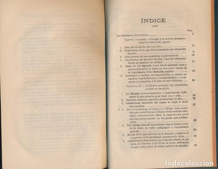 Libros antiguos: TEORÍA Y PRÁCTICA DE LA EDUCACIÓN Y LA ENSEÑANZA, solo tomo II- P. ALCÁNTARA - ver imágenes - Foto 3 - 135947478