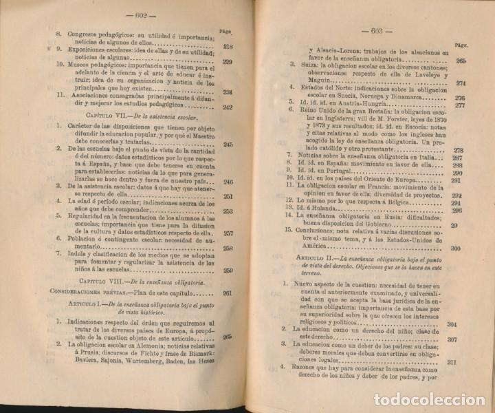 Libros antiguos: TEORÍA Y PRÁCTICA DE LA EDUCACIÓN Y LA ENSEÑANZA, solo tomo II- P. ALCÁNTARA - ver imágenes - Foto 5 - 135947478
