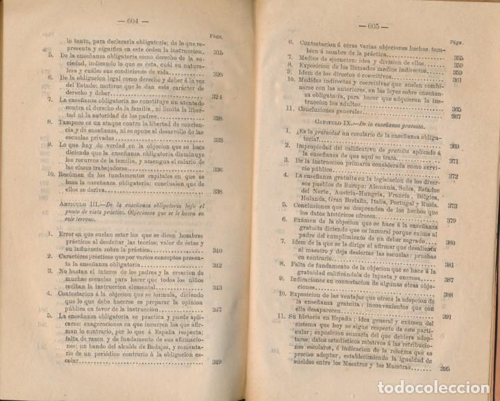 Libros antiguos: TEORÍA Y PRÁCTICA DE LA EDUCACIÓN Y LA ENSEÑANZA, solo tomo II- P. ALCÁNTARA - ver imágenes - Foto 6 - 135947478