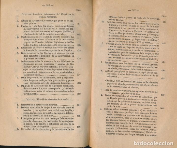 Libros antiguos: TEORÍA Y PRÁCTICA DE LA EDUCACIÓN Y LA ENSEÑANZA, solo tomo II- P. ALCÁNTARA - ver imágenes - Foto 7 - 135947478