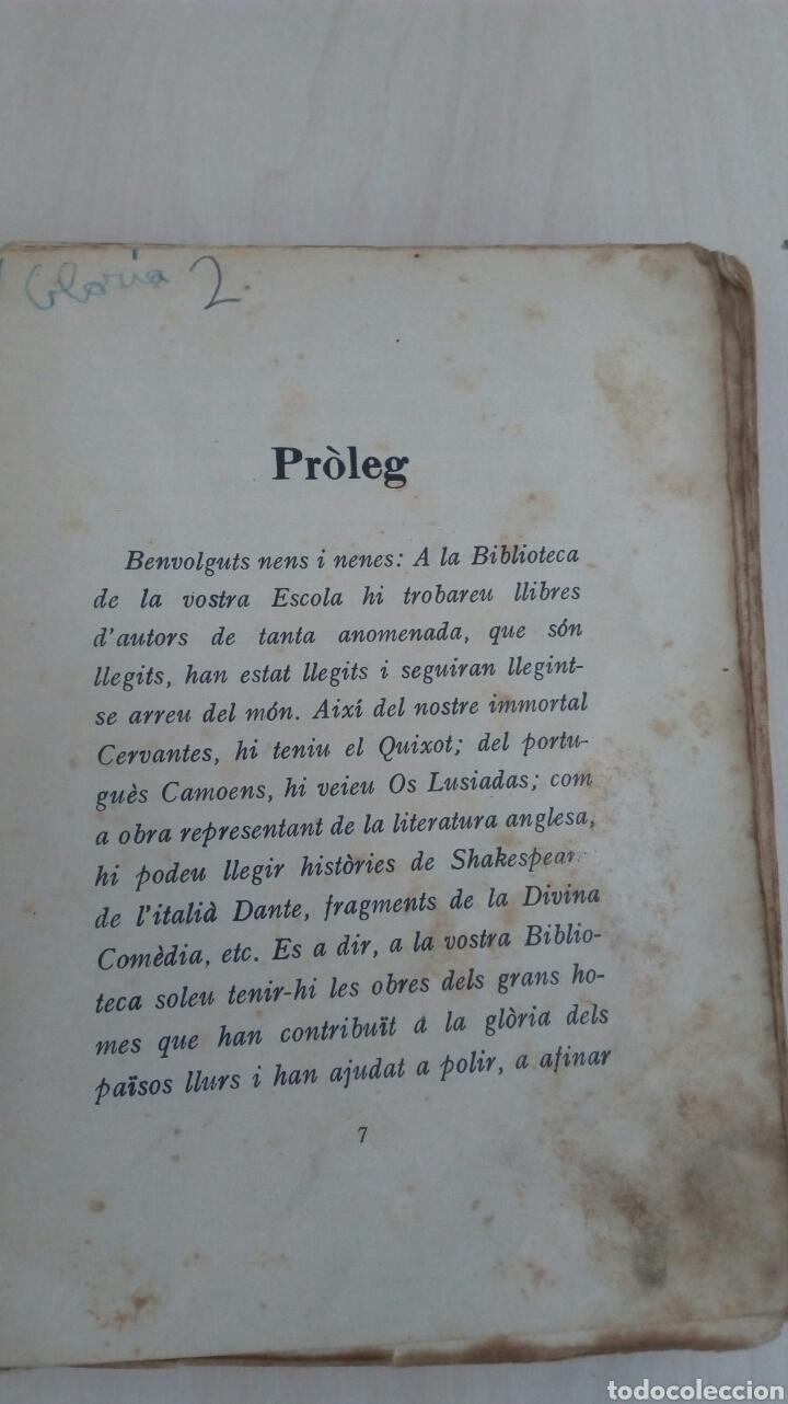 Libros antiguos: EL LLIBRE DE LES BESTIES /Ramon Llull /1Edicion año 1934 /Muy deteriorado - Foto 4 - 137697470