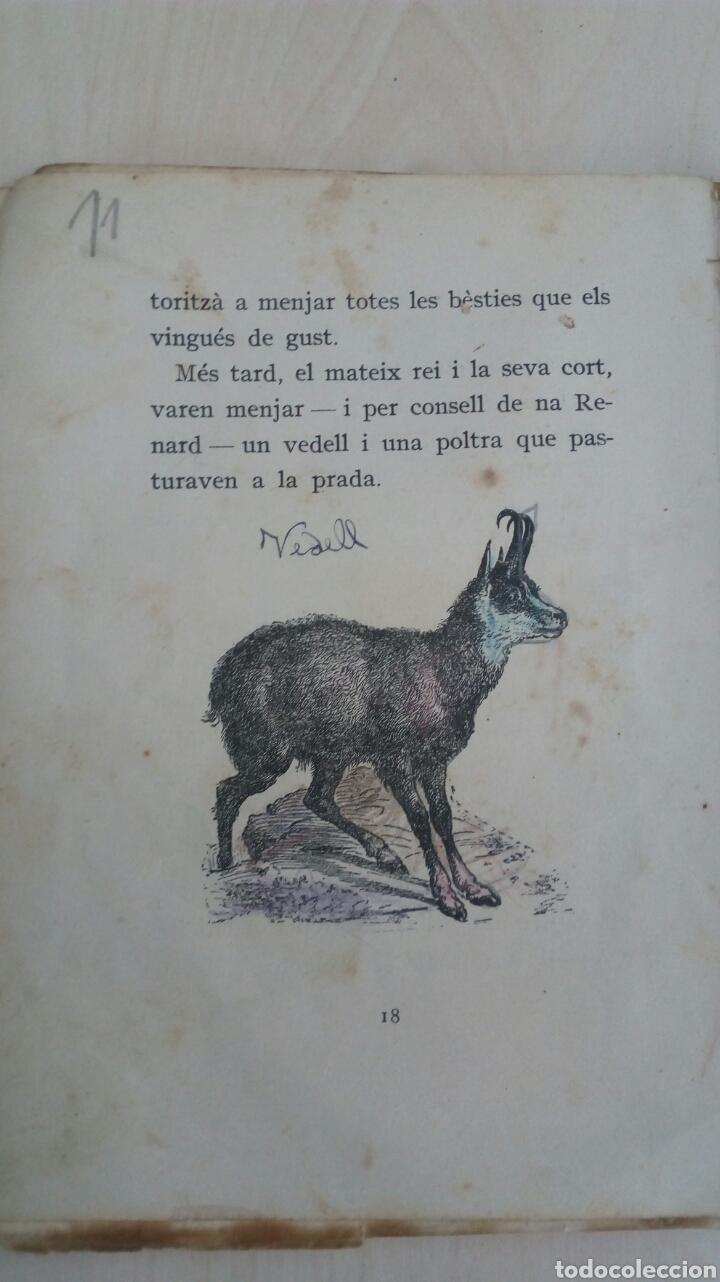 Libros antiguos: EL LLIBRE DE LES BESTIES /Ramon Llull /1Edicion año 1934 /Muy deteriorado - Foto 6 - 137697470