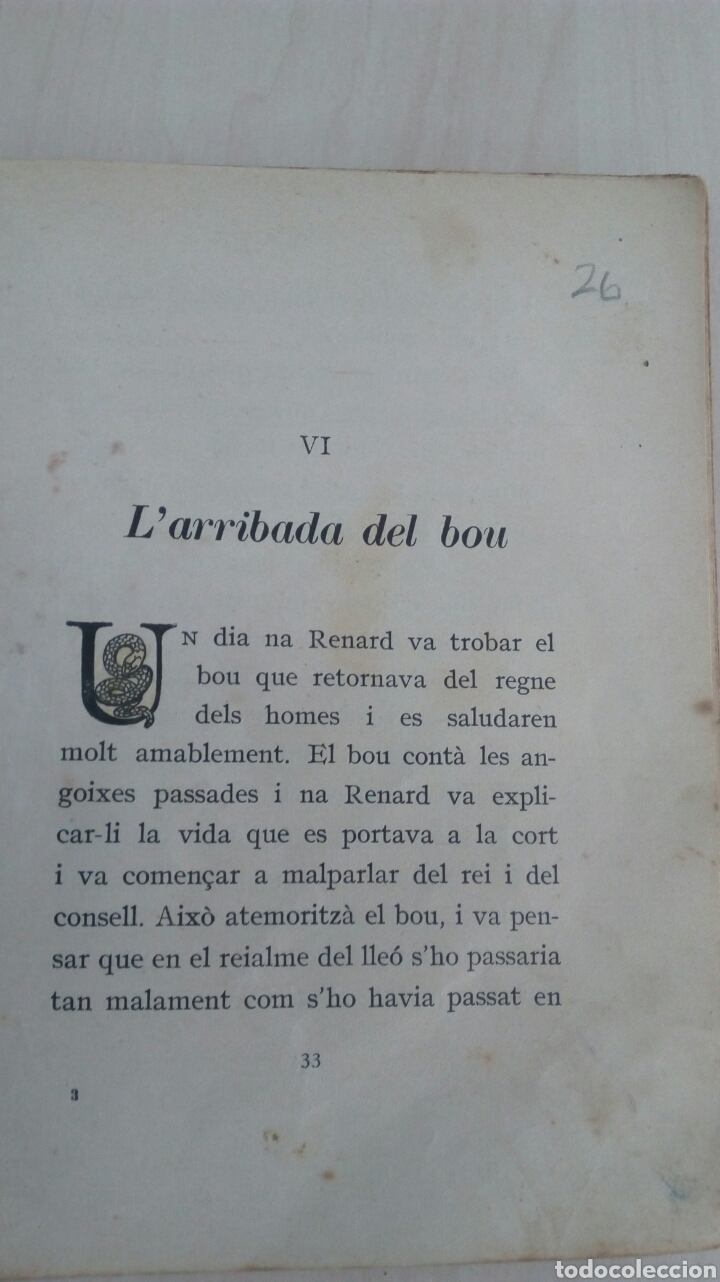 Libros antiguos: EL LLIBRE DE LES BESTIES /Ramon Llull /1Edicion año 1934 /Muy deteriorado - Foto 7 - 137697470
