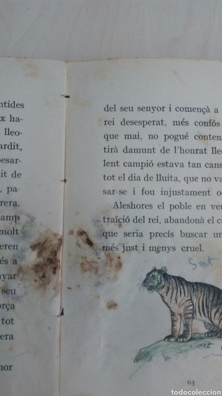 Libros antiguos: EL LLIBRE DE LES BESTIES /Ramon Llull /1Edicion año 1934 /Muy deteriorado - Foto 9 - 137697470
