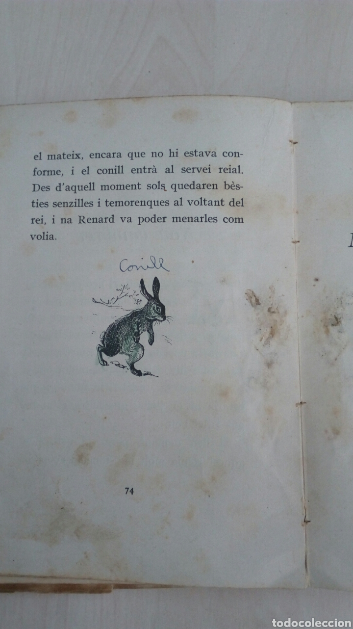 Libros antiguos: EL LLIBRE DE LES BESTIES /Ramon Llull /1Edicion año 1934 /Muy deteriorado - Foto 10 - 137697470